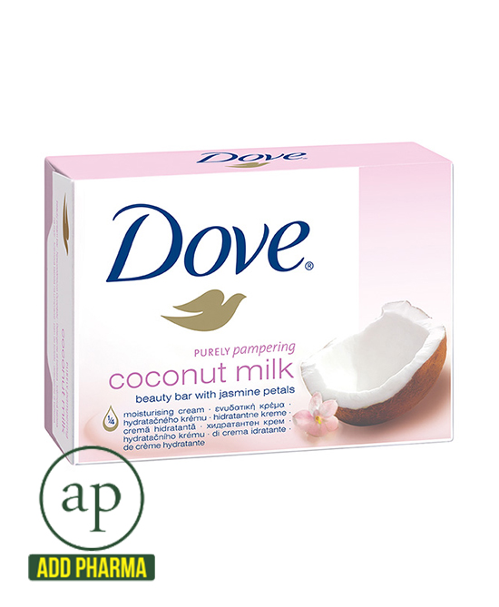 Dove Coconut Milk cream soap - 100g - AddPharma | Pharmacy in Ghana |