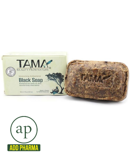 TAMA® All Moisturizing African Black Soap - 4.25 oz
