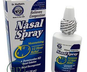 Dr. Sheffield's Oxymetazoline 12-Hour Relief Original Nasal Spray - 1 Fl Oz (30ml)