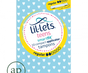 Lil-Lets teens Applicator Tampons Regular - Pack of 10
