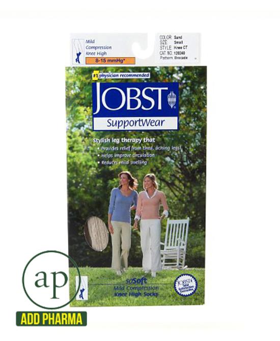Jobst SupportWear SoSoft Mild Compression Socks, Knee High - 8-15mmHg Sand