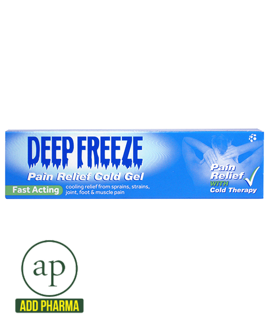 Deep Freeze Pain Relief Cold Gel -100g