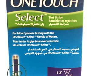 OneTouch® Select® test-strips - 50 tests strips