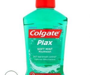 Colgate Plax Soft Mint Mouthwash 500ml