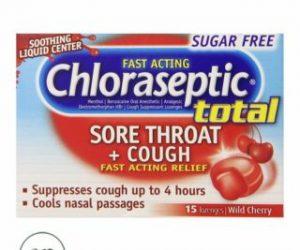 Chloraseptic Multi-Symptom Lozenges, Cherry - 15Ct
