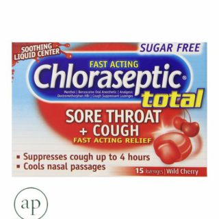 Chloraseptic Multi-Symptom Lozenges, Cherry - 15Ct