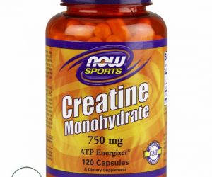 Now Creatine Monohydrate - 750 mg 120 Caps