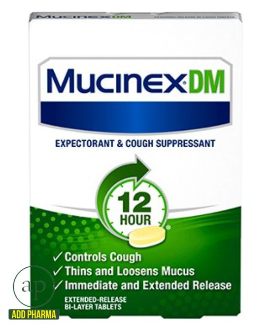 Mucinex® DM - 28 Tabs