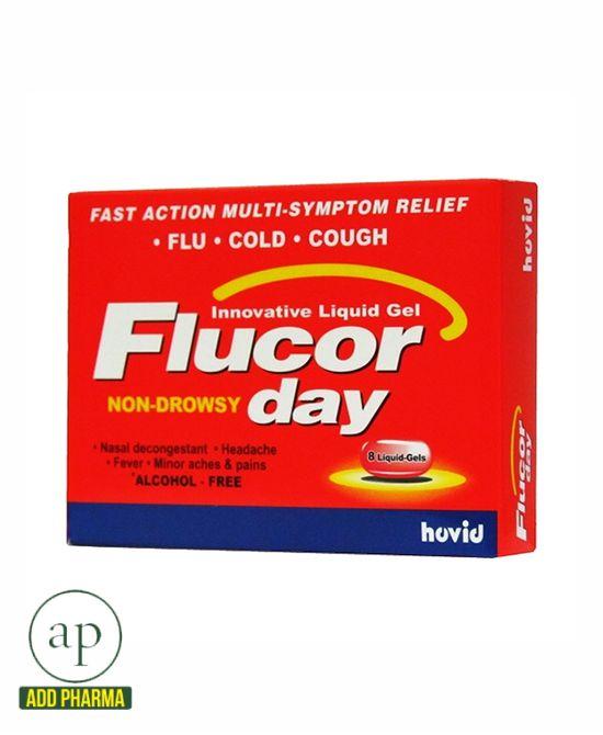 Flucor Day - 8 Liquid-Gels
