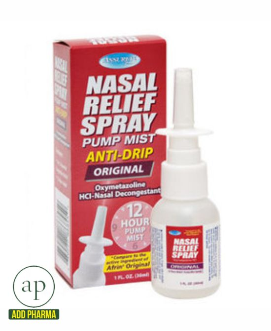 Dr. Sheffield's Oxymetazoline 12-Hour Relief Original Nasal Spray, 1 Fl Oz. by Dr. Sheffield's