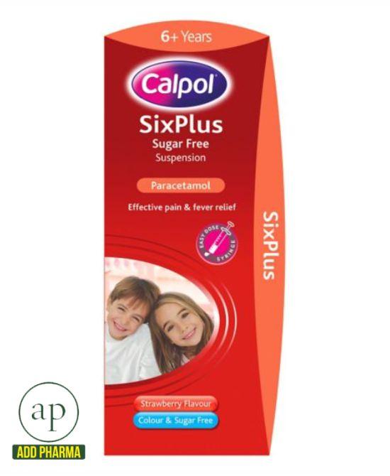 Calpol strawberry flavour 6yrs+ - 200ml