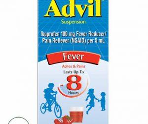 Children's Advil Ibuprofen Fever Reducer Oral Suspension Fruit 4.0 fl oz