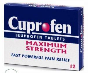 Cuprofen Maximum Strength 12 tablets