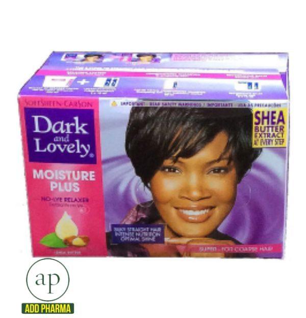 Dark and Lovely MOISTURE PLUS No-lye Relaxer kit