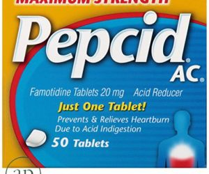 Maximum Strength Pepcid Ac - 50 Tablets