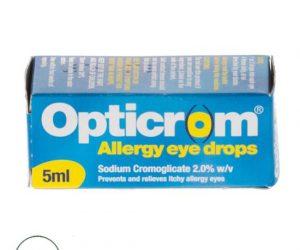 Opticrom Allergy Eye Drops 5ml Opticrom Allergy Eye Drops 5ml