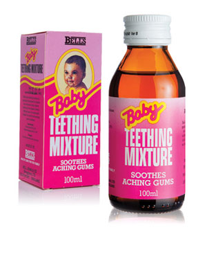Bell's Baby Teething Mixture - 100ml
