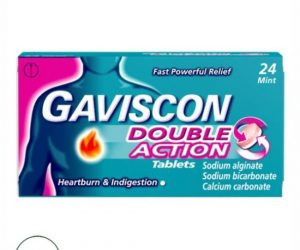 Gaviscon Double Action Peppermint Flavour Tablets - 24 Tablets