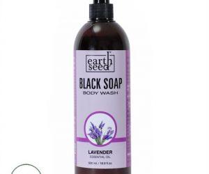 Earth Seed Body Wash, Lavender - 16.9 Fl Oz (500ml)