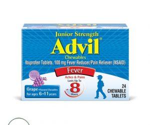 Advil® Junior Chewables - 24 Tablets