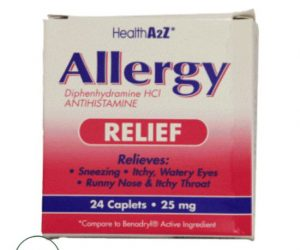 Health A2z Allergy Relief - 24 Tablets