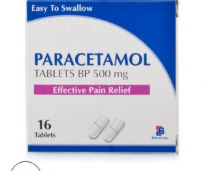 Bristol Labs Paracetamol Tablets - 500mg (16Tabs)