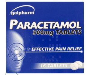 Galpharm Paracetamol - 500mg (16 Tablets)