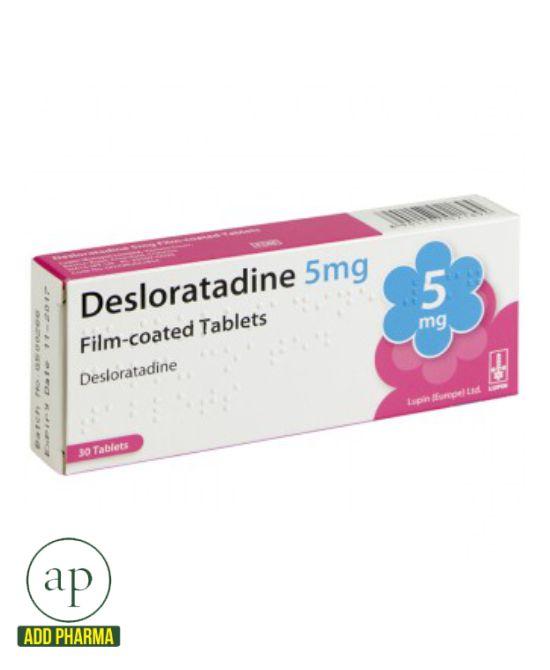 Desloratadine 5mg - 30 tablets