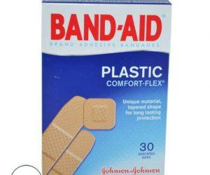 Band-Aid Bandages Plastic Comfort Plasters - 30Ct