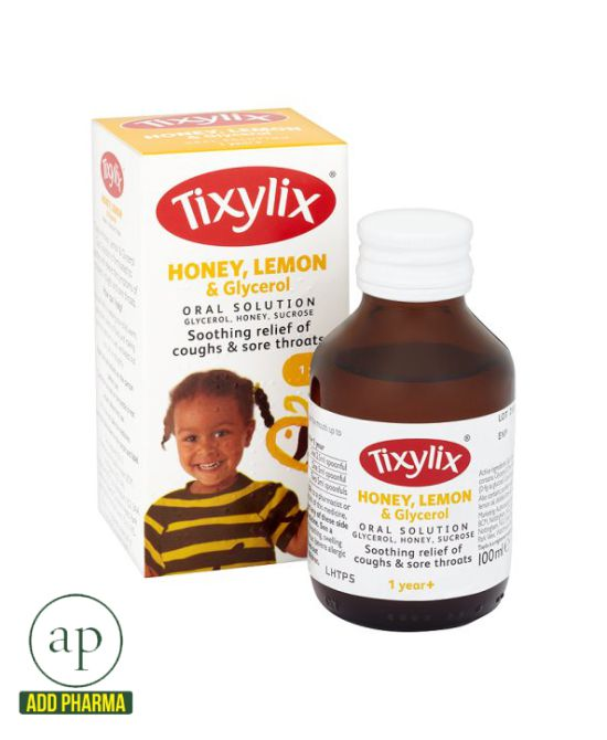 Tixylix Honey and Lemon - 100ml