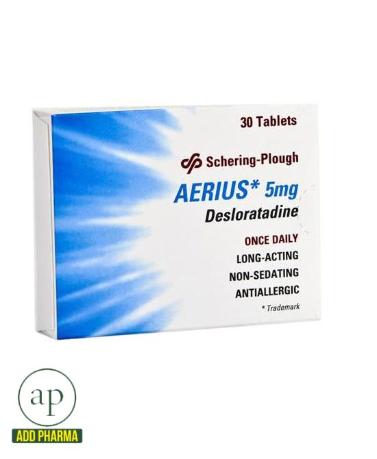 Aerius 5 mg - 30 Tablets