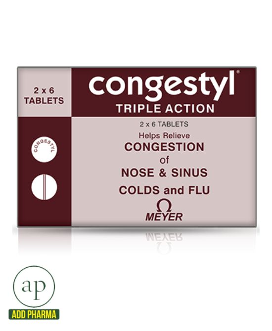Congestyl Tablet - 12 Tablets