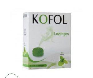 Kofol Lozenges Mint, Charak -12 lozenges