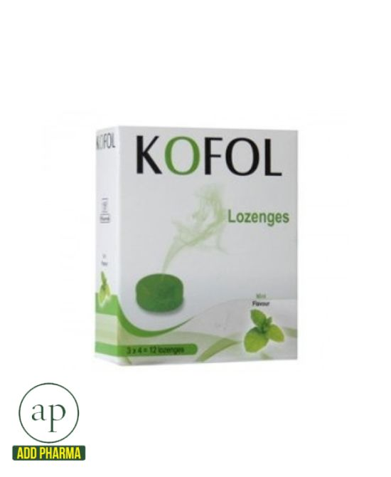 Kofol Lozenges Mint, Charak -12 lozenges