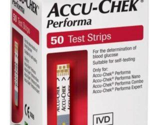 Accu Chek Performa - 50 Tests Strips