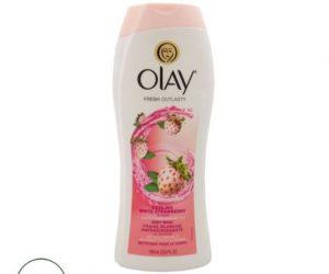 Olay White Strawberry & Mint Body Wash - 700ml