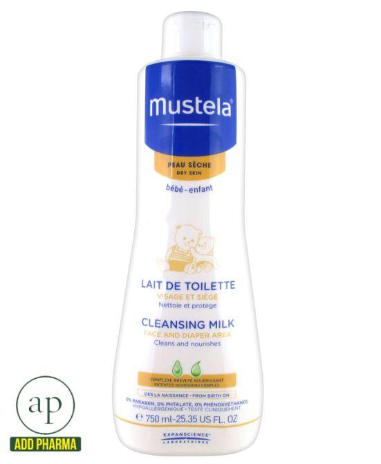 Mustela Cleansing Milk - 750ml
