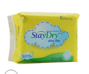 StayDry Ultra Thin - 12 Pads