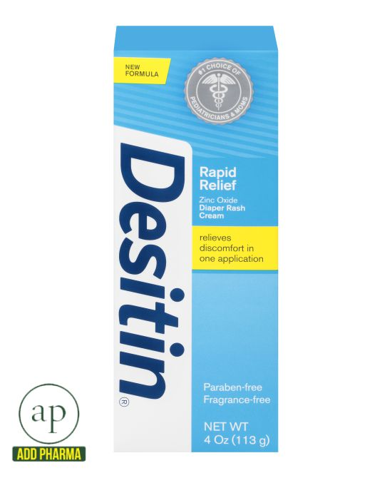 Desitin Rapid Relief Cream - 4Oz