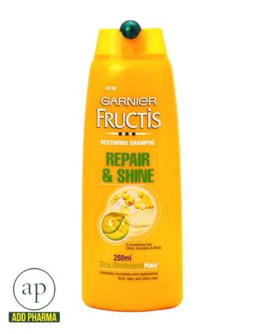 Garnier Fructis Repair & Shine Shampoo - 250ml