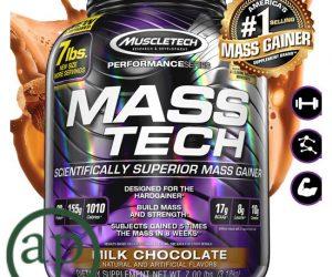 MuscleTech Mass-Tech Milk Chocolate - 3.18kg
