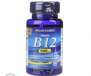 Holland & Barrett Vitamin B12 100ug - 100 Tablets