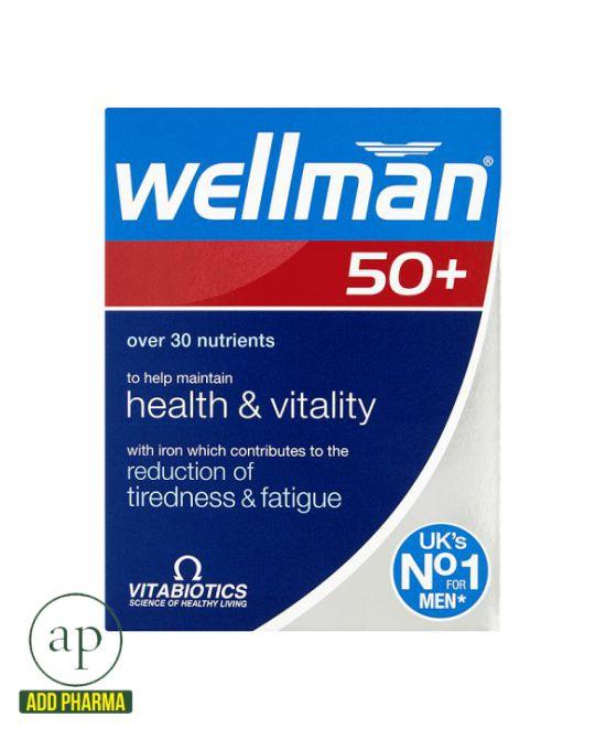 Wellman 50+ - 30 Capsules