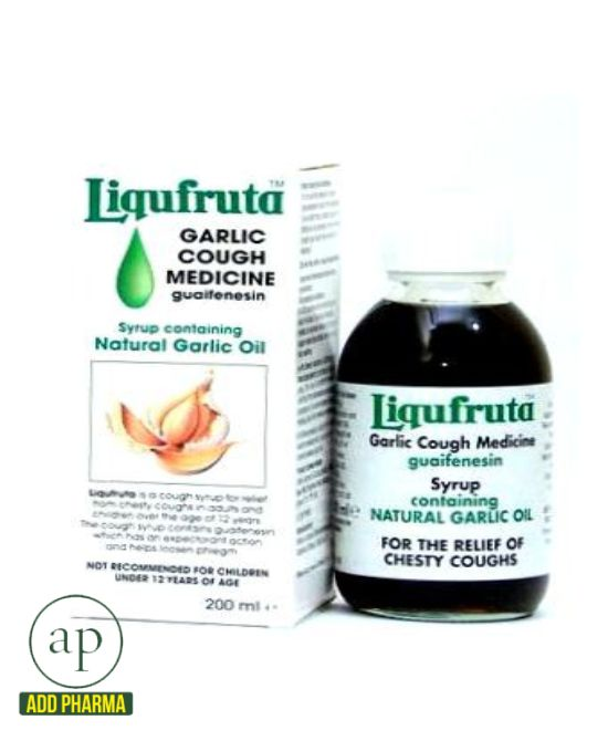 Liquifruta Garlic Cough Medicine - 200ml