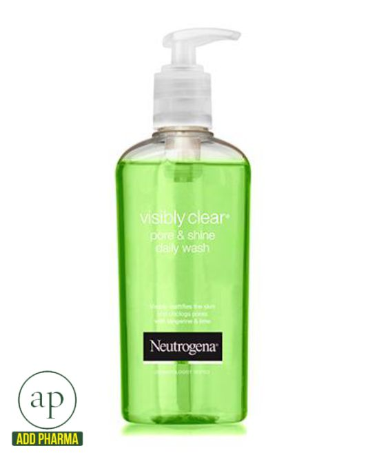 Neutrogena Visibly Clear® Pore & Shine Daily Wash - 200ml