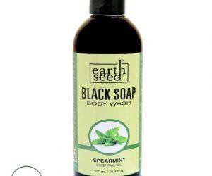Earth Seed Body Wash, Spearmint - 16 oz.