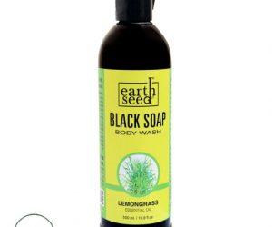 Earth Seed Body Wash, Lemon Grass - 16 oz.