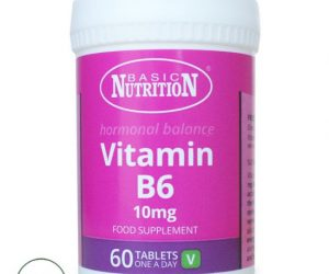 Basic Nutrition Vitamin B6 - 60 Tablets