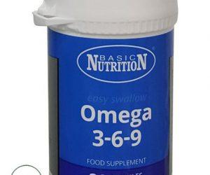 Basic Nutrition Omega 3-6-9 - 30 Capsules