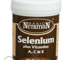 Basic Nutrition ACE Selenium Plus - 30 Tabs